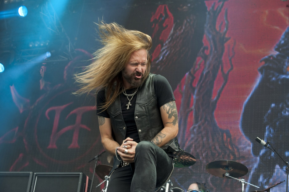 Hammerfall live, Wacken Open Air 2014