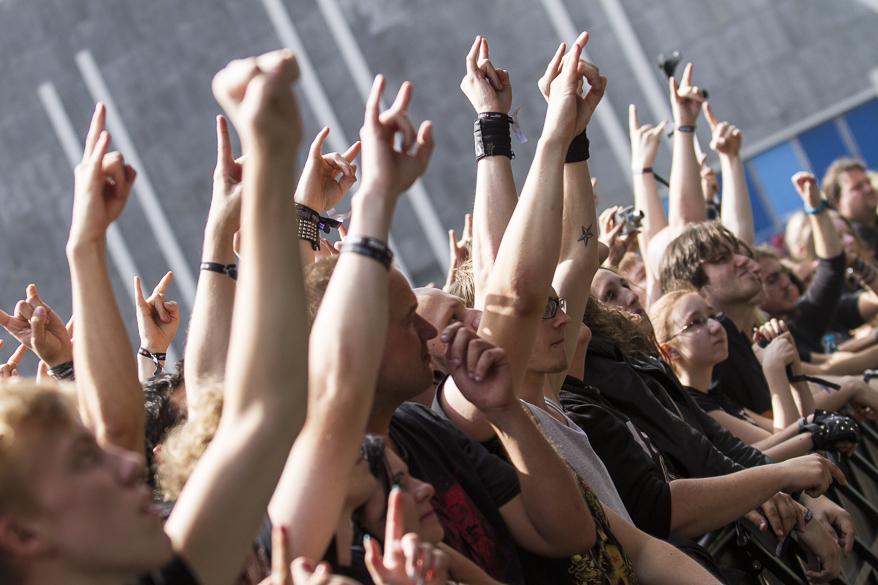 Fear Factory live, Elbriot Festival 2013