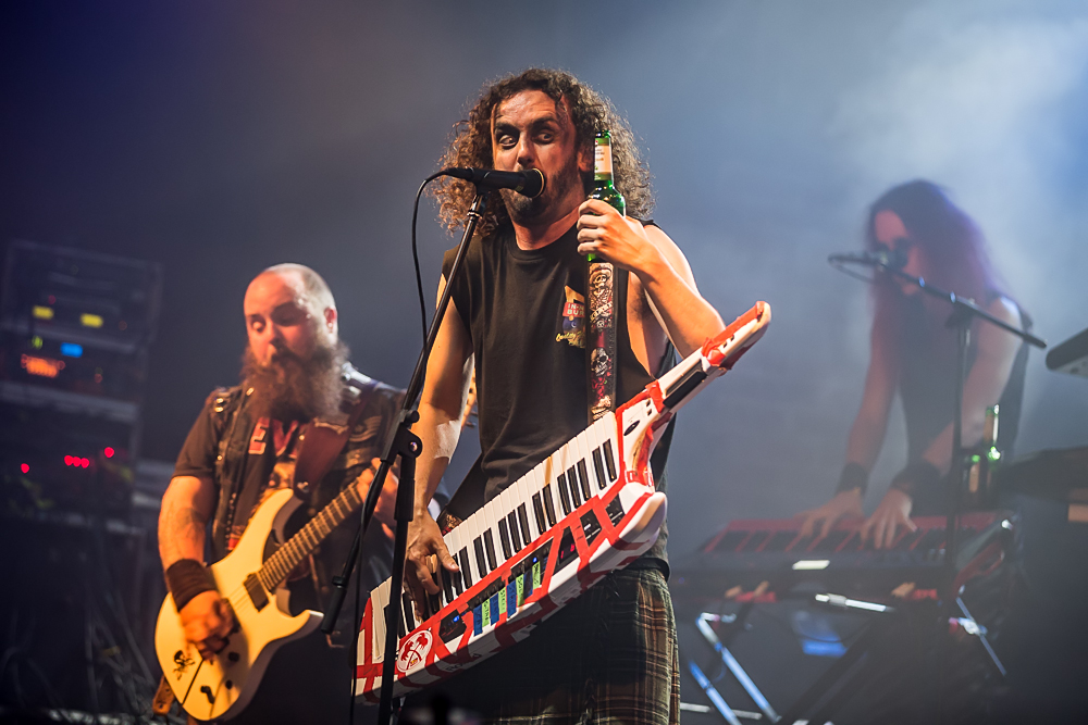 Alestorm live, 12.09.2014, Nürnberg: Rockfabrik