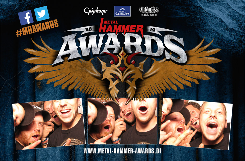 Metalheads zeigen Gesicht: Die Fotobox der METAL HAMMER AWARDS 2014