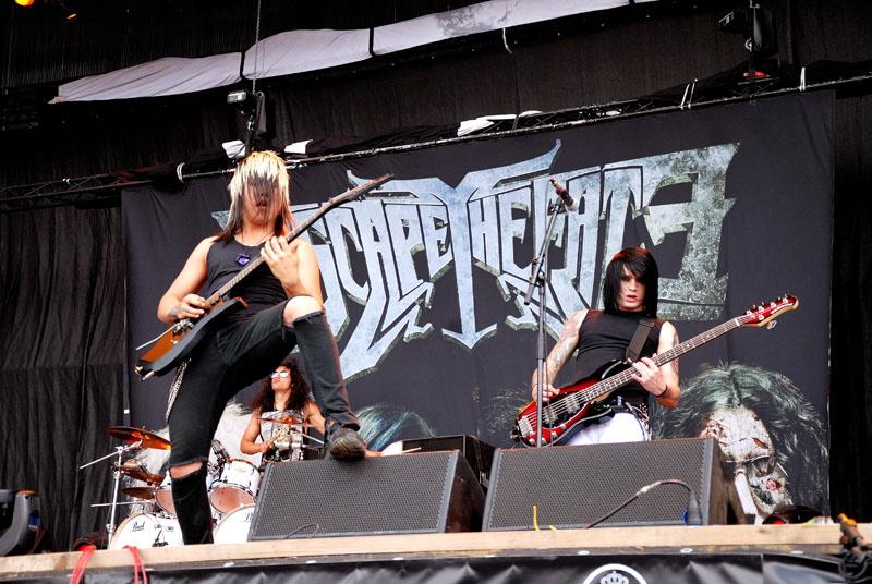 Escape The Fate, live, Rock am Ring, 2011