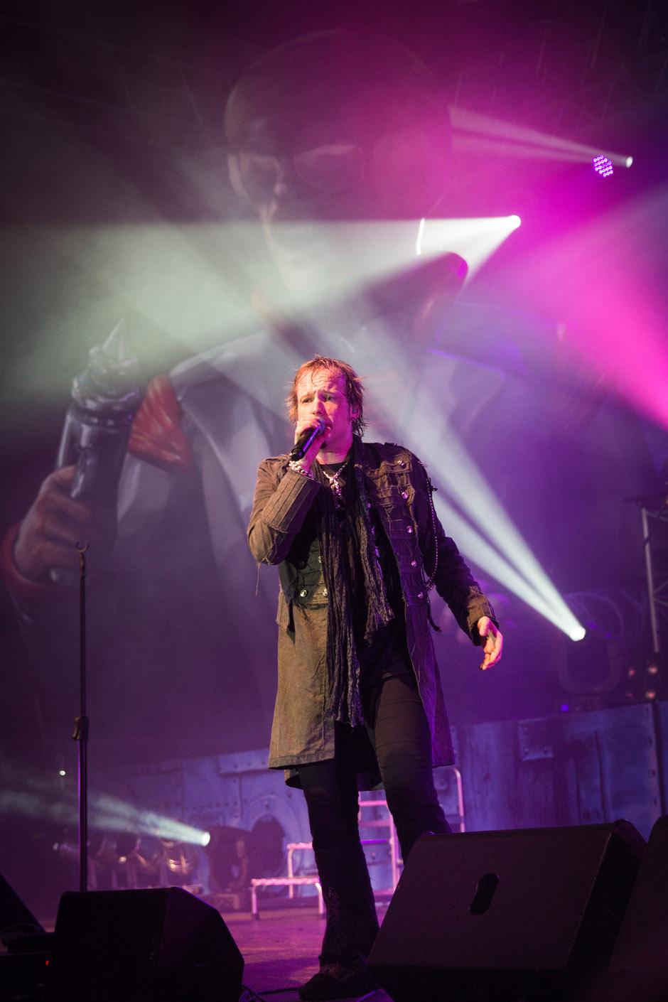Edguy live, 28.09.2014 Oberhausen
