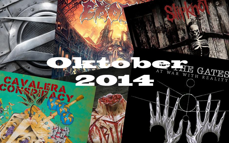 Das sind die neuen Alben im Oktober 2014 >>>>