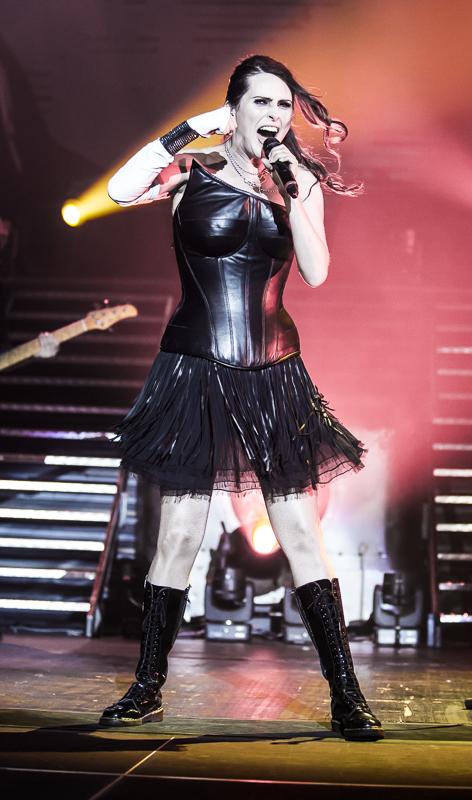 Within Temptation live, 18.04.2014, Frankfurt