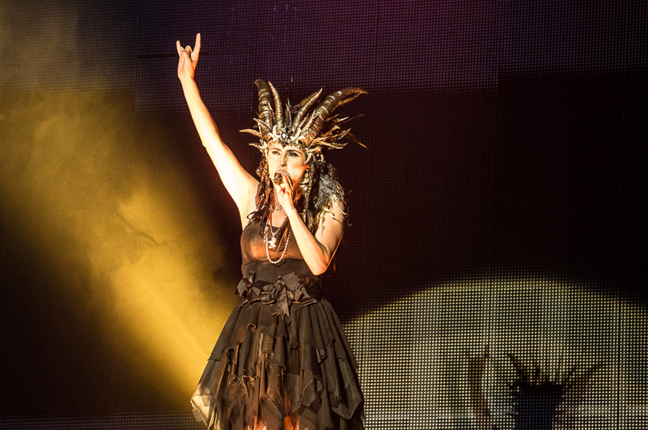 Within Temptation live, M'era Luna Festival 2014