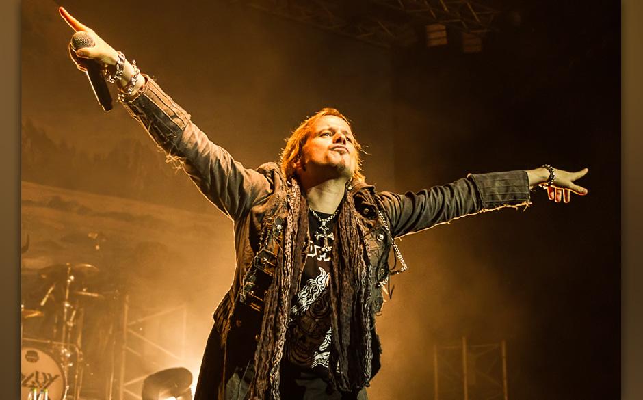 Edguy live, 02.10.2014, Bamberg