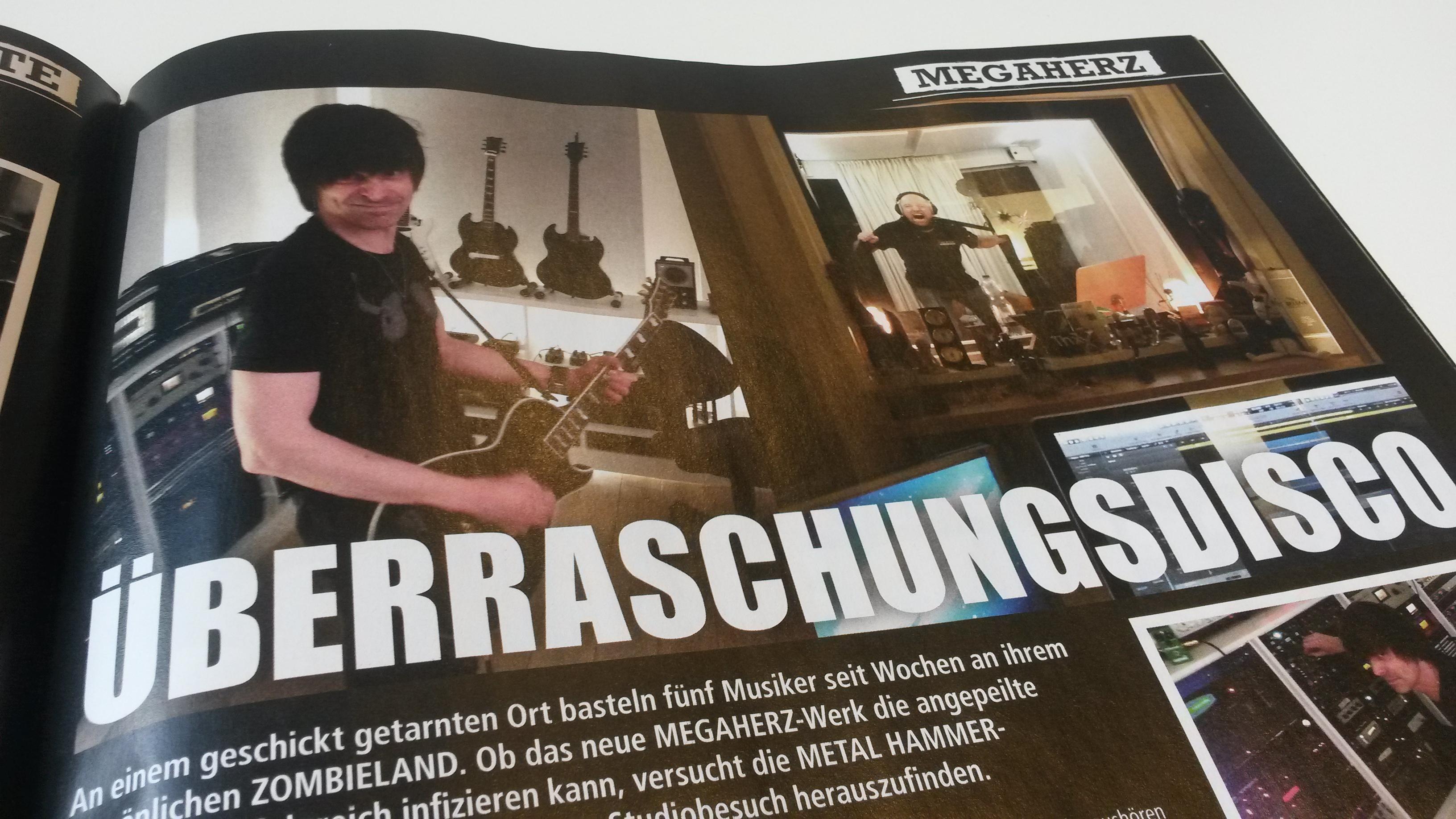 METAL HAMMER-Ausgabe Oktober 2014