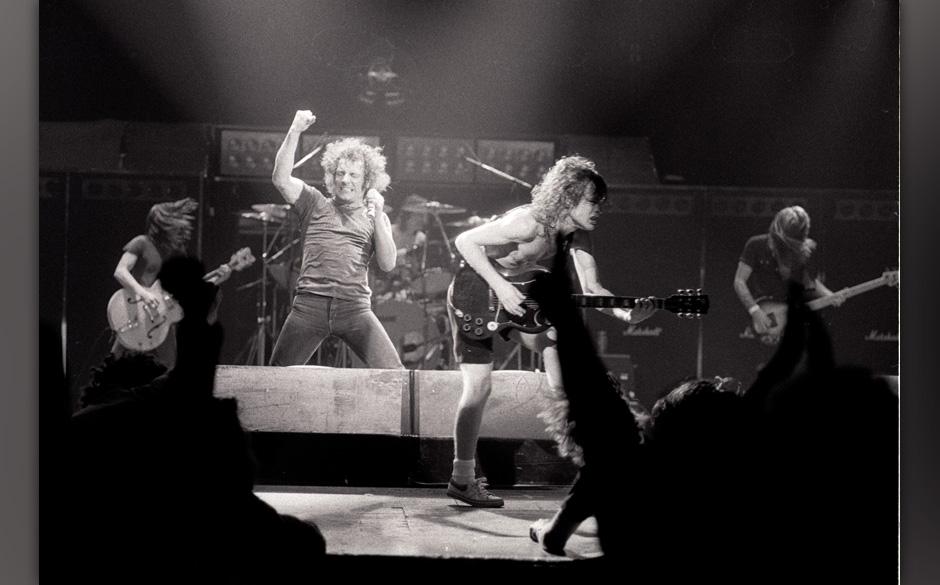 AC/DC  Europe 1980