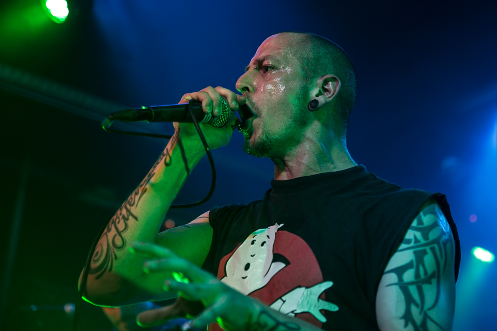 Defy the Laws of Traditions live, Wacken Roadshow, 09.10.2014, Nürnburg