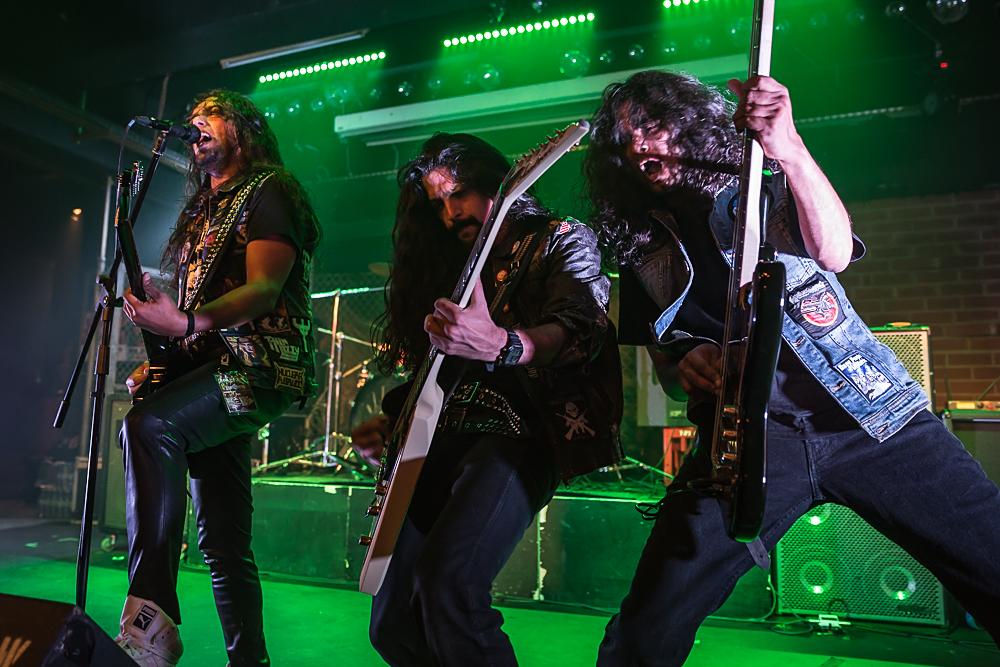 Kryptos live, Wacken Roadshow, 09.10.2014, Nürnburg
