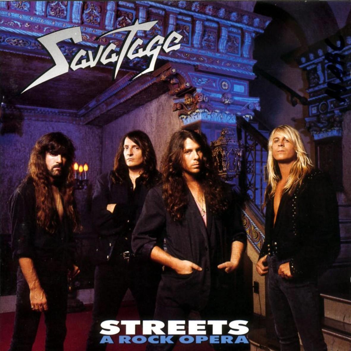 Savatage STREETS, 1991