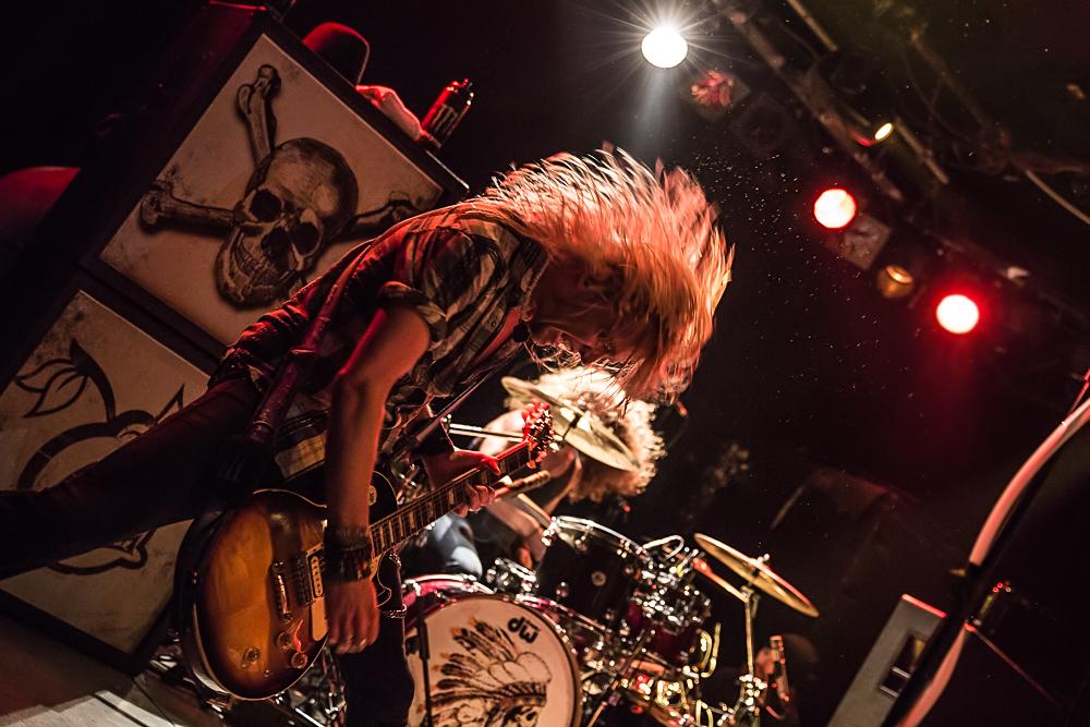 Black Stone Cherry live, 17.10.2014, Nürnberg: Hirsch