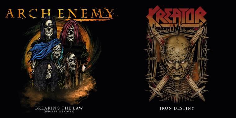 Arch Enemy/Kreator Split 7'