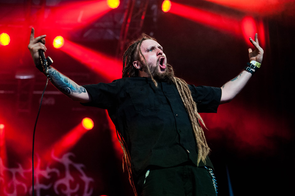 Decapitated live, Wacken Open Air 2014