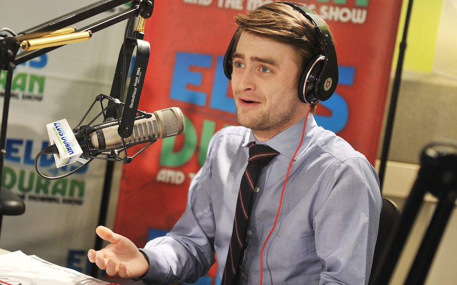 (EXCLUSIVE COVERAGE)  <> at Z100 Studio on January 30, 2012 in New York City.