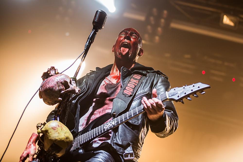 Debauchery + Blood God live, 31.10.2014, Nürnberg