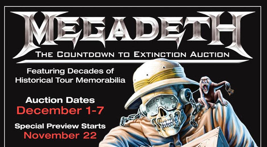 Megadeth-Auktion
