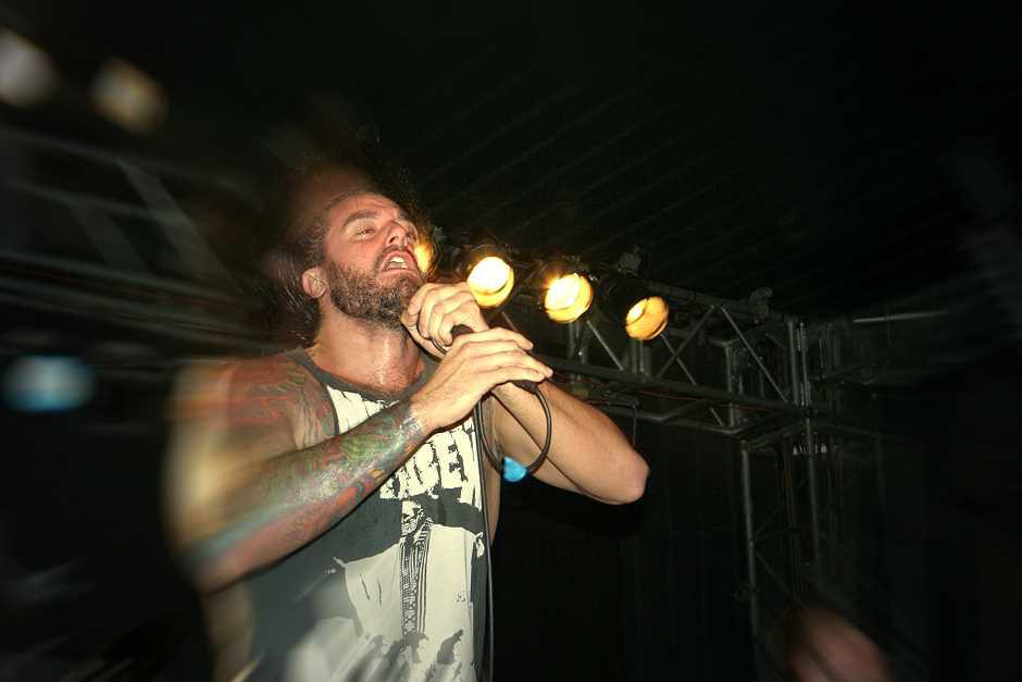 Job For A Cowboy live, 08.10.2012, München, Backstage