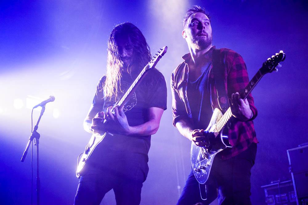 Wovenwar, live, 01.11.2014, Bochum