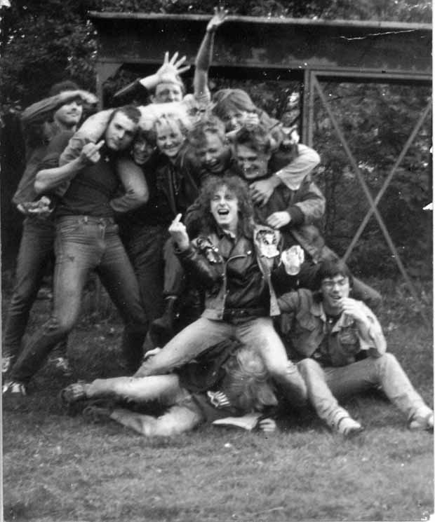 80er-Impressionen aus der Metal-Szene der DDR