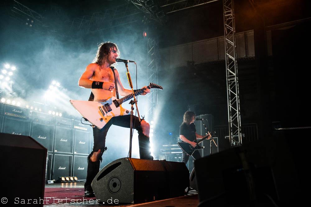 Airbourne live, 06.11.2014, Oberhausen: Turbinenhalle