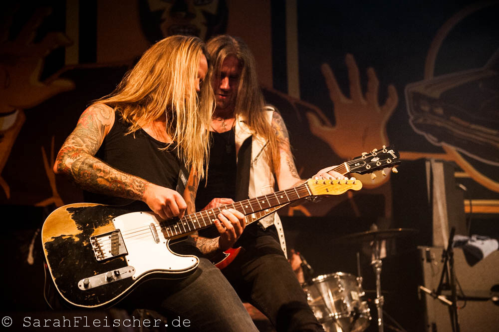 Bonfire live, 06.11.2014, Oberhausen: Turbinenhalle