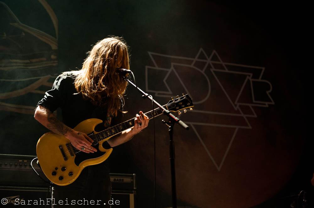 Kadavar live, 06.11.2014, Oberhausen: Turbinenhalle