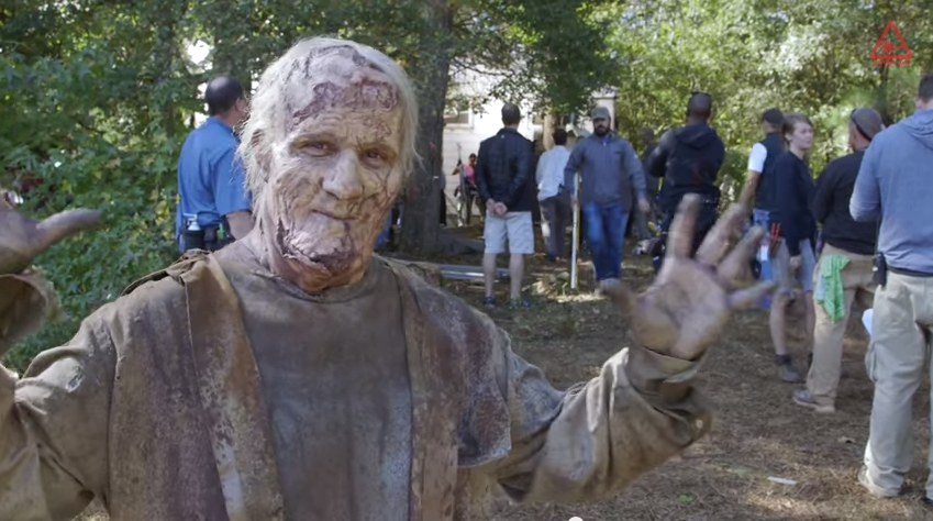 Scott Ian (Anthrax) als Zombie in 'The Walking Dead'