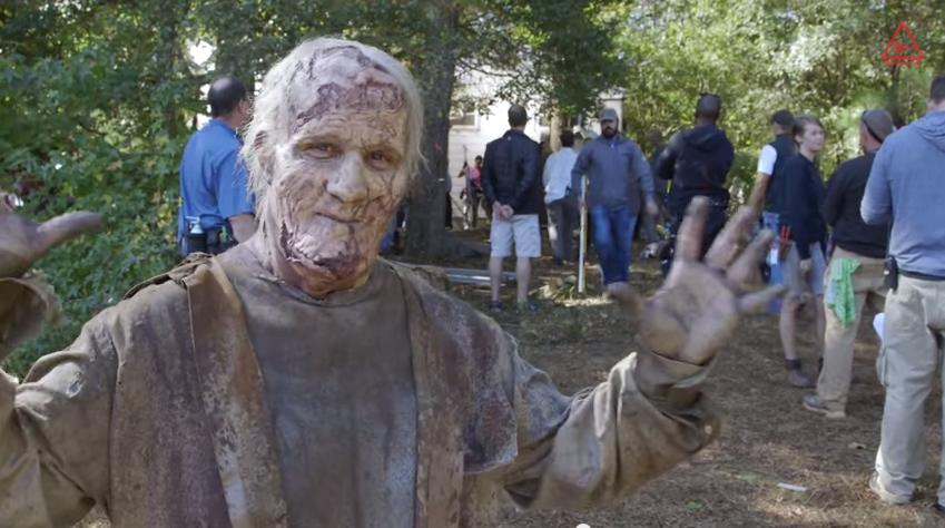 Scott Ian (Anthrax) als Zombie in 'The Walking Dead'