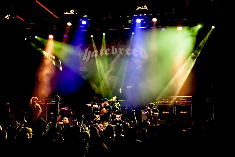 Hatebred live, 10.11.2014, Wiesbaden: Schlachthof