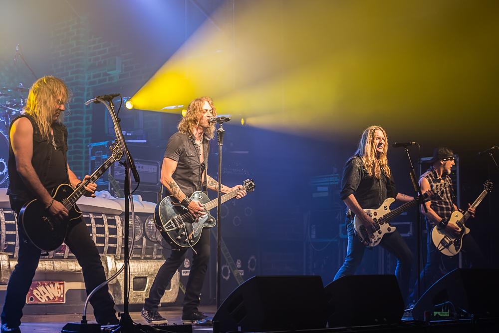 Gotthard live, 11.11.2014, Nürnberg: Rockfabrik