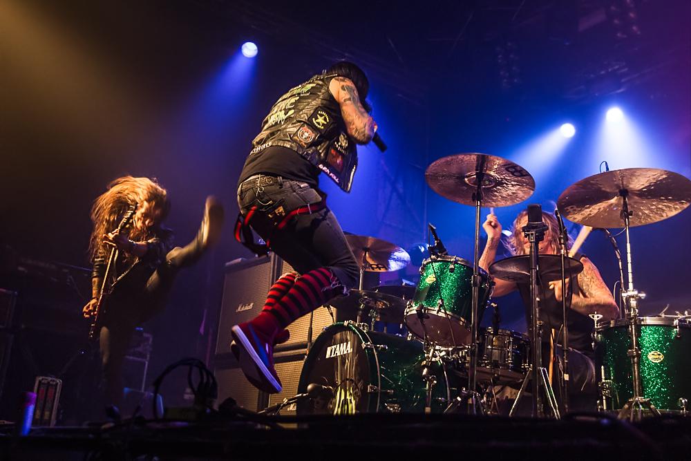 Hardcore Superstar live, 11.11.2014, Nürnberg: Rockfabrik