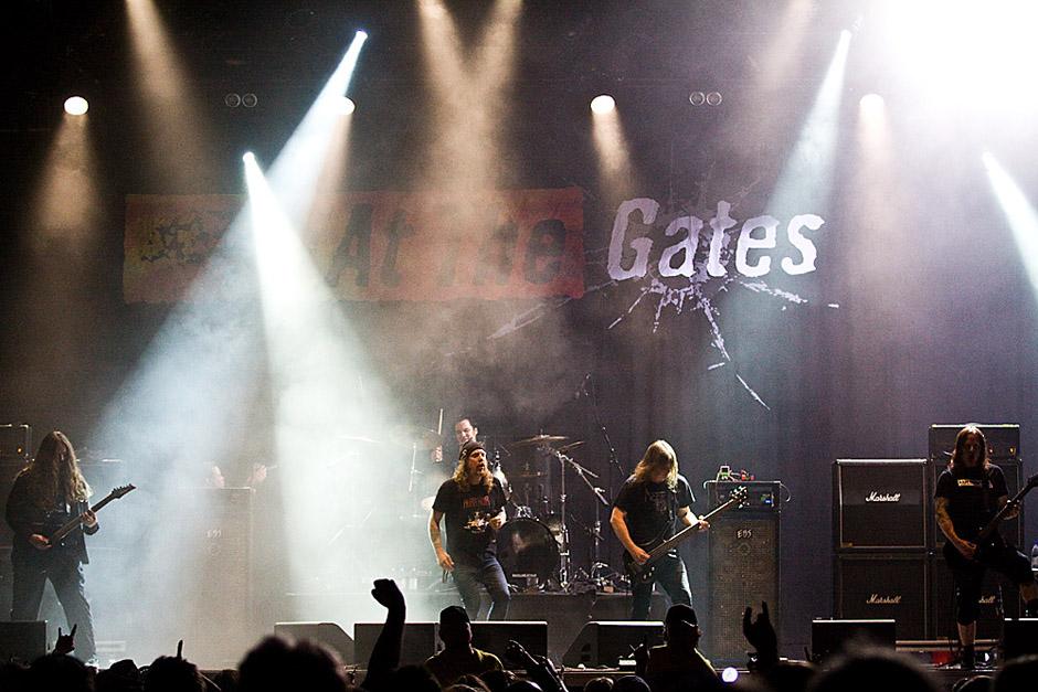 At The Gates live, Sweden Rock 2013