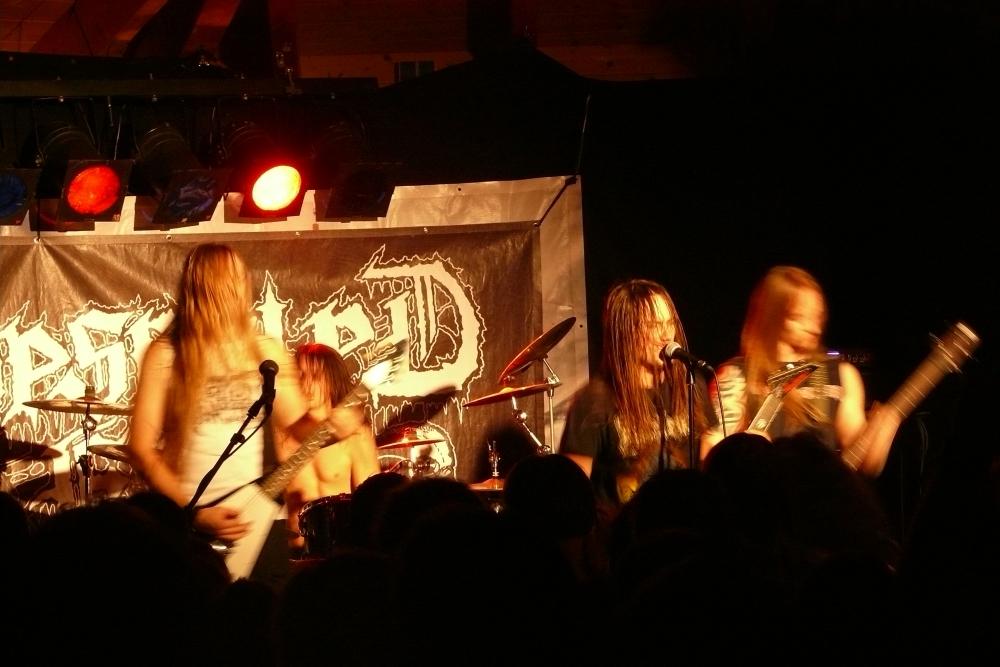 Deserted Fear live, METAL HAMMER PARADISE 2014