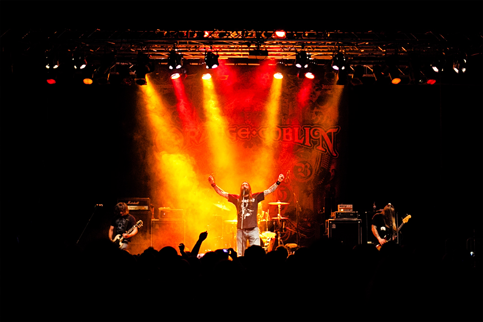 Orange Goblin live, Hammer Of Doom 2014