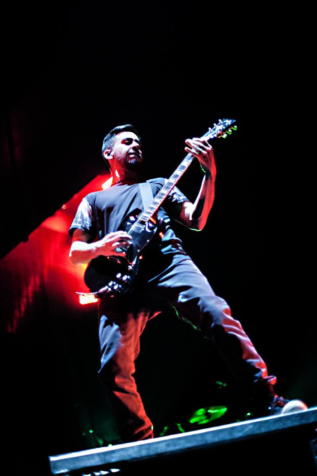 Linkin Park live, 17.11.2014m Frankfurt: Festhalle