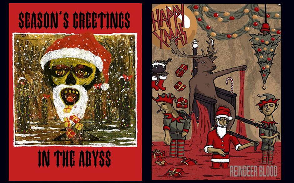 Metal-Weihnachtskarten, Slayer