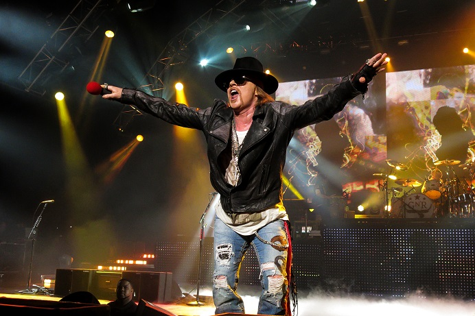 Axl Rose Appetite For Democracy
