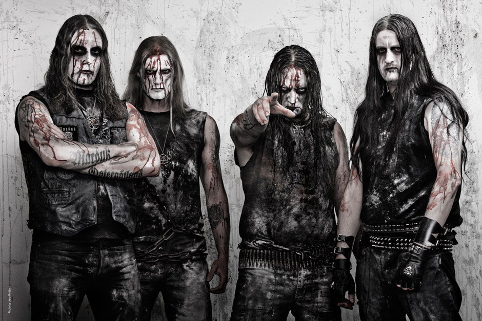 Marduk' march 2012Left to right: Morgan, Lars, Mortuus, Devo