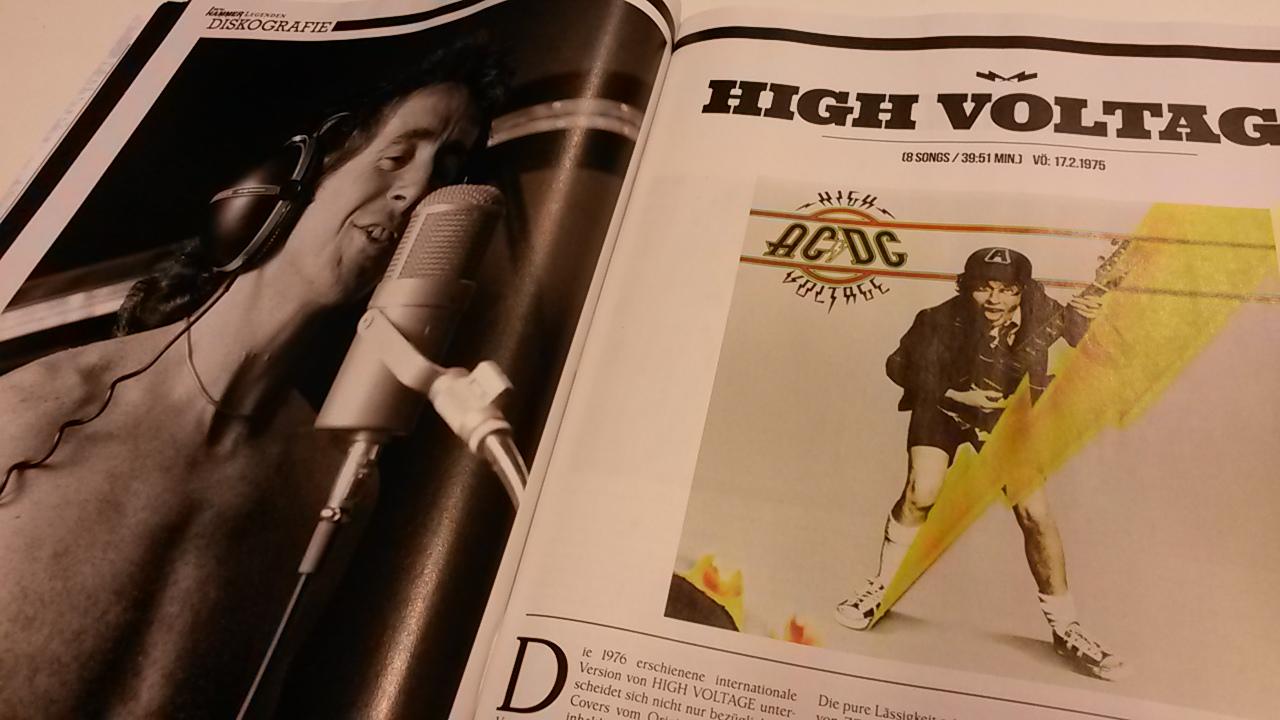 Sonderheft METAL HAMMER LEGENDEN: AC/DC