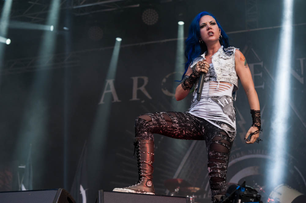 Arch Enemy live, Rock Harz Festival 2014