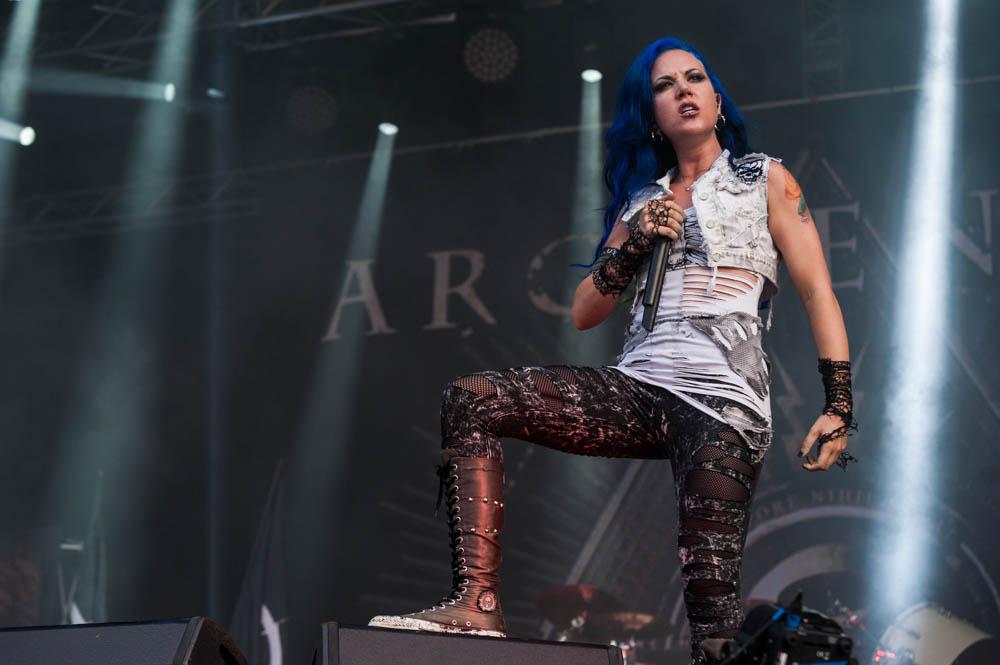Arch Enemy live, Rock Harz Festival 2014