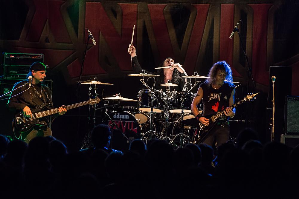 Anvil live, 26.11.2014, Nürnberg: Hirsch