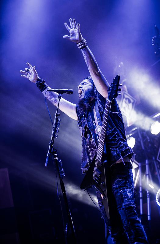 Machine Head live, 27.11.2014, Wiesbaden
