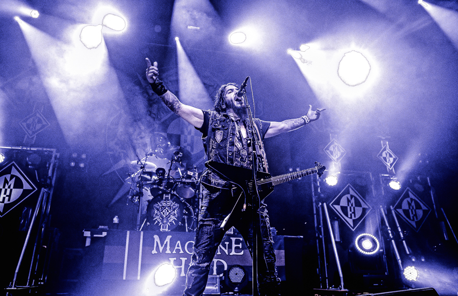 Machine Head live, 27.11.2014, Wiesbaden