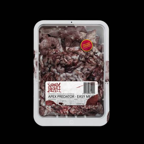 Napalm Death APEX PREDATOR – EASY MEAT