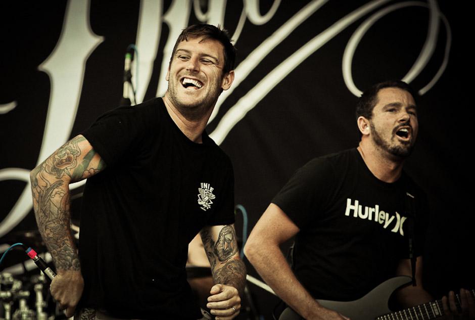 Parkway Drive live, Nova Rock 2013
