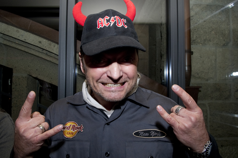 AC/DC-Releaseparty zu ROCK OR BUST, 27.11., Hamburg: Hardrock Cafe