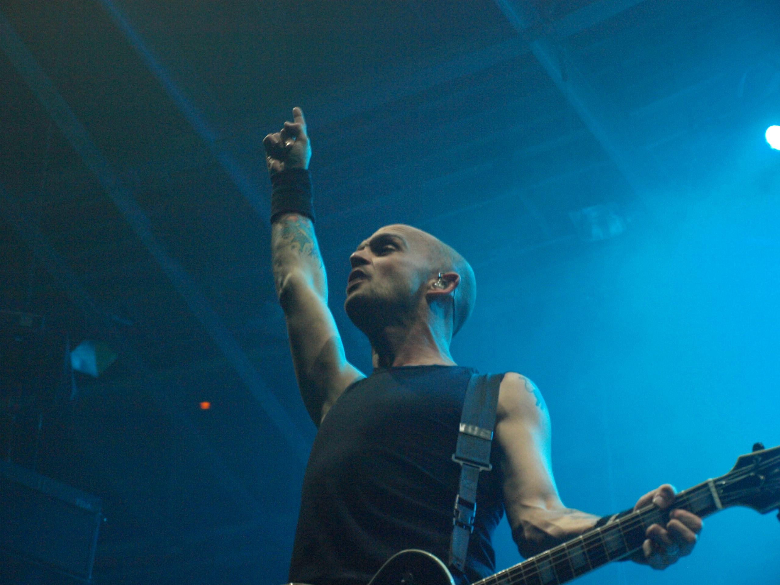 Rise Against live, 20.11.2014, Berlin: Velodrom