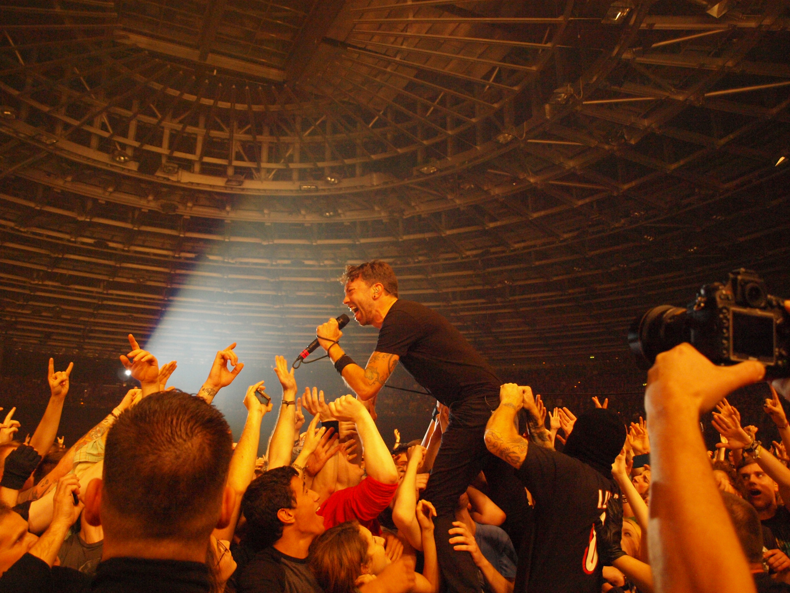 Rise Against live, 20.11.2014, Berlin: Velodrom